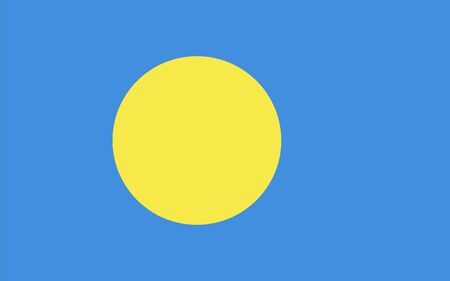 proportions: Standard Proportions and Color for Palau Flag