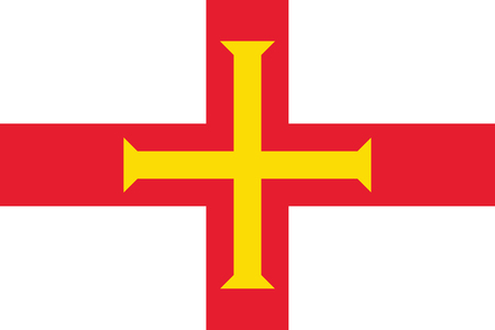 guernsey: Standard Proportions and Color for Guernsey Flag