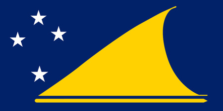 national women of color day: Standard Proportions and Color for Tokelau Flag