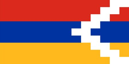 proportions: Standard Proportions and Color for Nagorno Karabakh Flag
