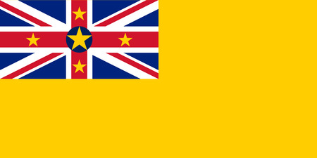 national women of color day: Standard Proportions and Color for Niue Flag