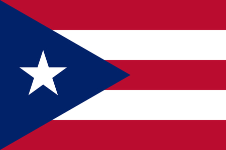 national women of color day: Standard Proportions and Color for Puerto Rico Flag