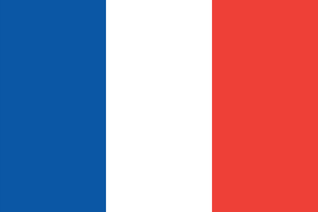 antarctic: Standard Proportions and Color for French Southern and Antarctic Lands Official Flag
