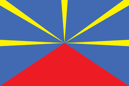 martinique: Standard Proportions and Color for Reunion Unofficial Flag