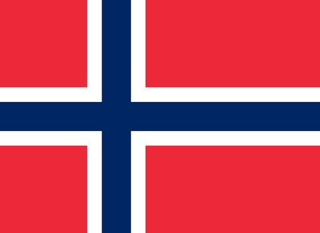 national women of color day: Standard Proportions and Color for Svalbard Official Flag