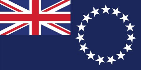 national women of color day: Standard Proportions and Color for Cook Islands Official Flag