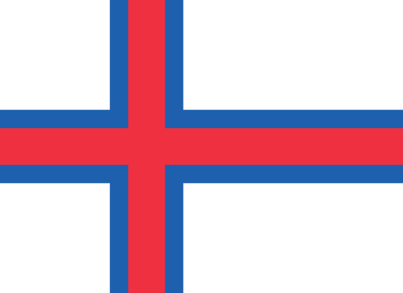 national women of color day: Standard Proportions and Color for Faroe Islands Official Flag