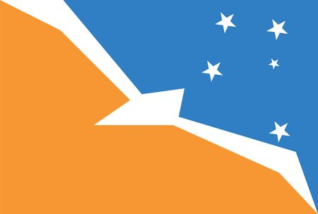 antarctica: Standard Proportions and Color for Argentine Antarctica Official Flag