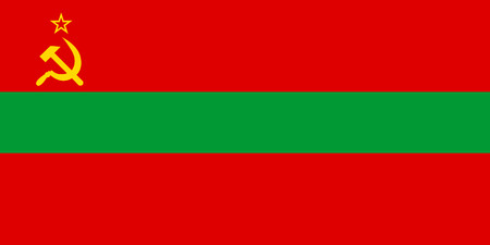 national women of color day: Standard Proportions and Color for Transnistria Official Flag Illustration