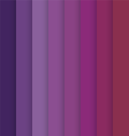 Vertical Purple Pink Colorful Striped Seamless Background Vector