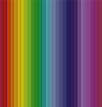 Vertical Colorful Spectrum Striped Seamless Background Vector