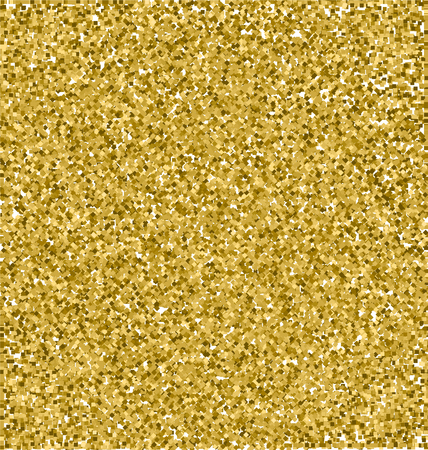 Realistic Gold Glitter Texture, Gold Sparkles Texture, Vector Texture Concept