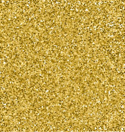 Realistic Gold Glitter Texture, Gold Sparkles Texture, Vector Texture Concept