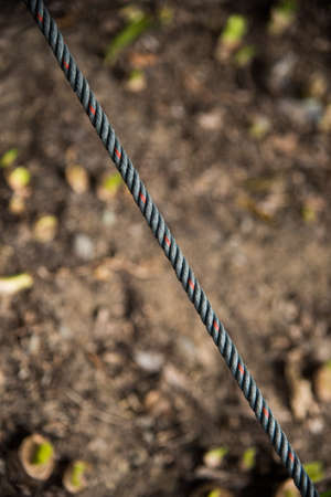 slash: rope view look like  slash symbol