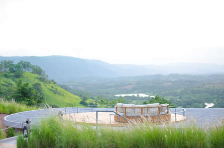 panorama view: vista panoramica a Khao Yai, Thailandia