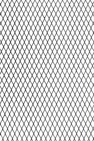 Leere Bilderrahmen Auf Industrielle Metalldraht Netz Zaun Textur ...
