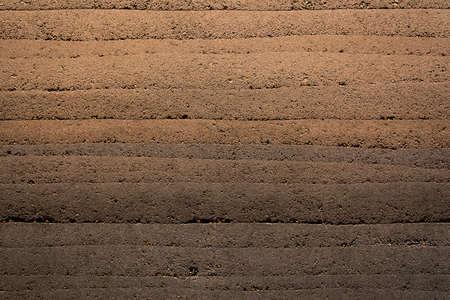 interior wall decoration texture seem like soil layer very beautiful Banco de Imagens