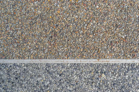 mixed wallpaper: sand stone texture with cement floor