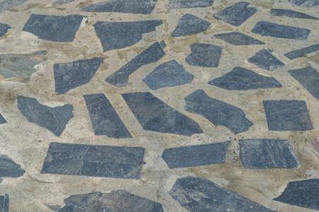 piso piedra: Fondo de la textura de suelo de piedra