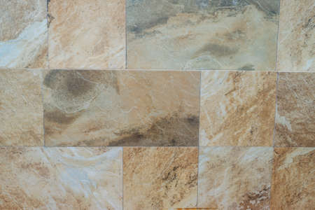 tiled wall: marble tiled wall texture background Stock Photo
