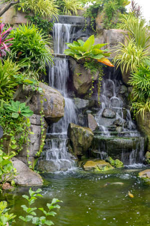 water fall: Water fall in garden