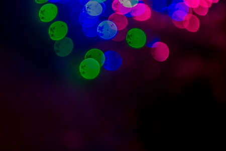 colorful lights: blurred colorful lights