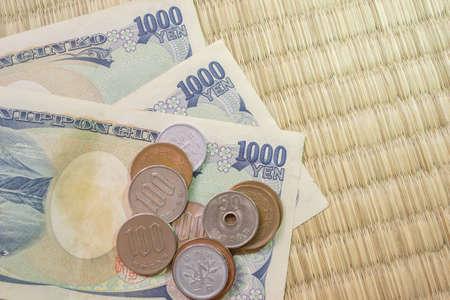 yen: yen notes and yen coins