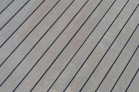 ship deck: Wooden Ship Deck Background Stock Photo
