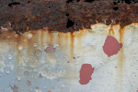 rusty background: rusty painted metal background