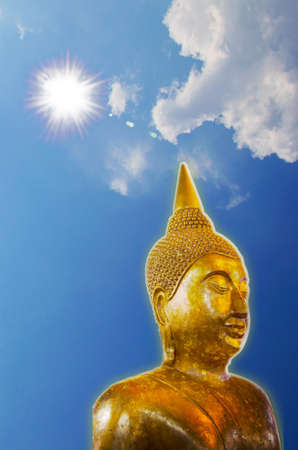 Buddha is revered by the people of Thailand  photo