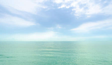 Beautiful sea and sky, Hua Hin, Thailand Stock Photo - 18231710