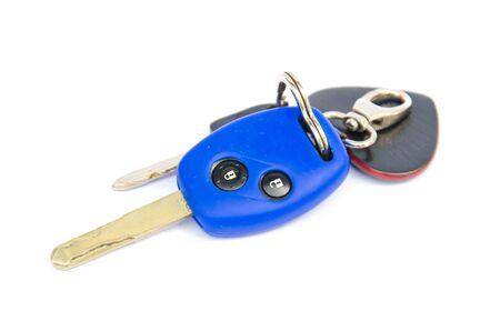 remotes: Isolated car key Stock Photo