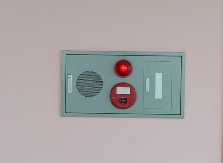 Fire alarm break glass alarm trigger photo