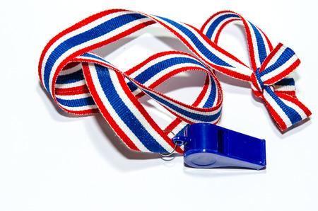 Bandeira Whistle-listrado da Tail Banco de Imagens