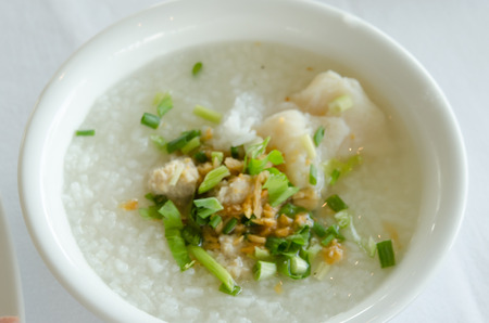 Fish in a bowl of mush photo