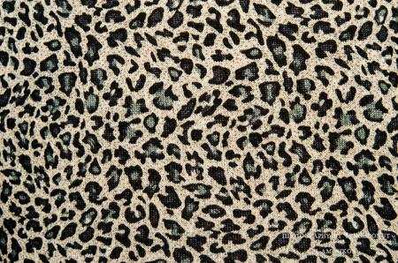 Modern stylish texture. The tiger cotton chintz. photo