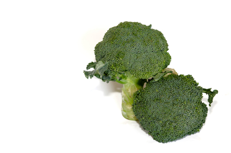 Broccoli isolated on a white background photo