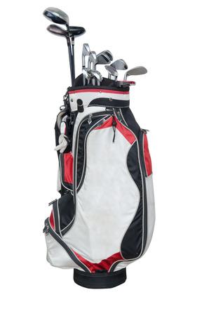Golfclub isoliert auf den weißen Hintergrund. Standard-Bild