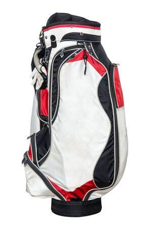 clube de golfe isolado no fundo branco. Banco de Imagens