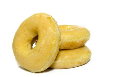 donut isolated on the white background. Stock Photo