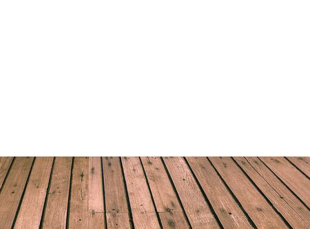 white wood floor: Wood floor on the white background.