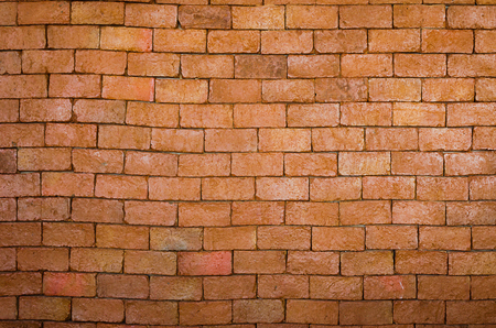 nicely: brick wall as a nicely textured background Stock Photo