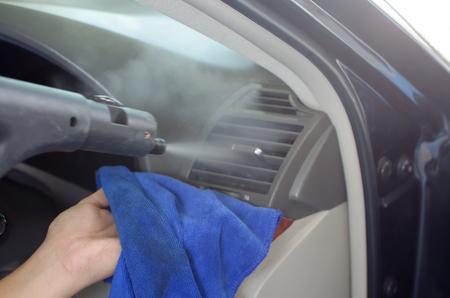 Clean the air of the car.