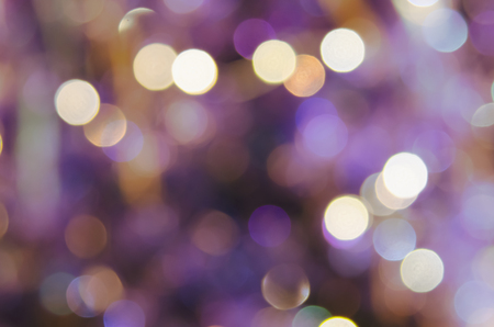 Purple abstract backgrounds with bokeh.