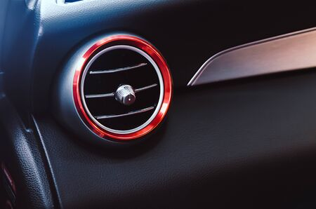 Modern air conditioning in the car