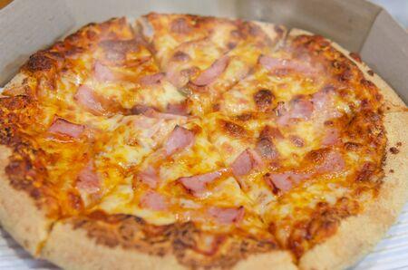 Hot Slice Pizza Ham Mozzarella