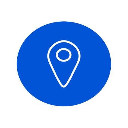 globe icon. world symbol. Flat Vector