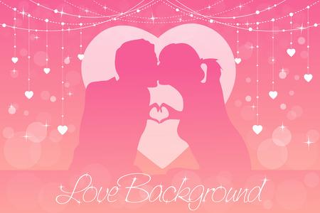 romantic: Romantic or wedding Background