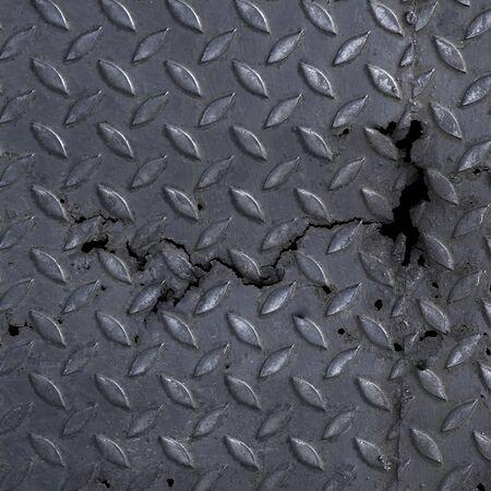 diamond plate: Metal Diamond Plate Texture Background Stock Photo