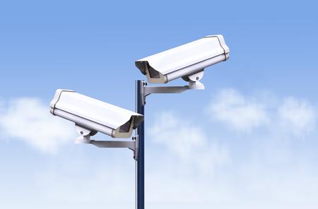 larceny: security camera outdoor ,cctv outdoor, Close circuit television